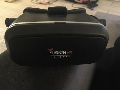 SISKIN VR HEADSET for Smartphone Virtual Reality Universal