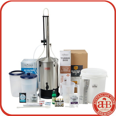SALE ON NOW Still Spirits Turbo 500 Distillery Kit T500 distil System home brew