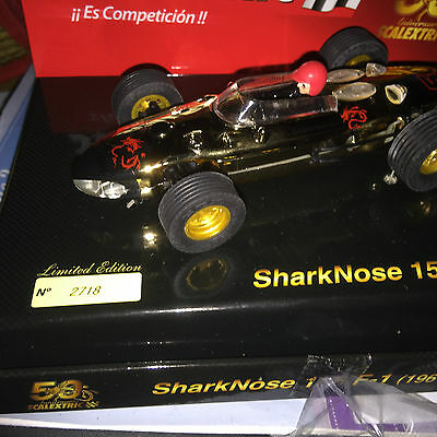 Scx  Limited Edition Ferrari Sharknose 156 F-1 Ref Nr A10106S300 New Boxed