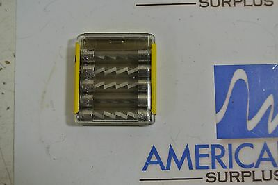 NEW Lot of 50 BUSS AGC5A AGC-5 5 amp 250 volt Fast Blow Glass Fuses