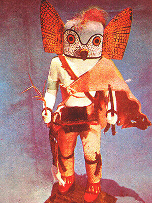 "Paul Chirumbolo Archival Fine Art Cards /""OWL KACHINA/"" SIGNED"