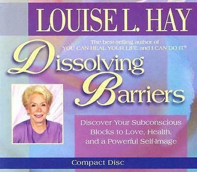 NEW Dissolving Barriers By Louise L. Hay Audio CD Free Shipping