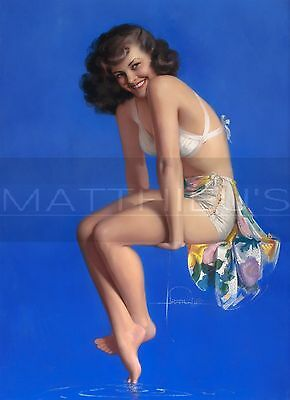 Rolf Armstrong-Twinkle Toes, Canvas/Paper Print, Pinup Girl
