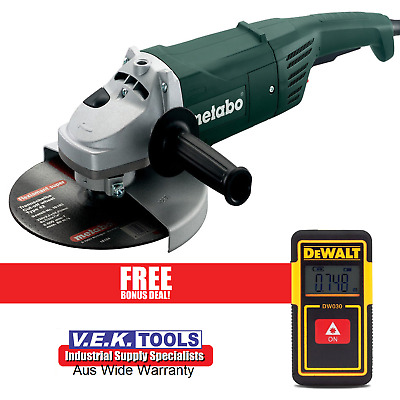 """Maktec By Makita 230Mm 9"""" Angle Grinder With Case-1Yr Nationwide Warranty"""