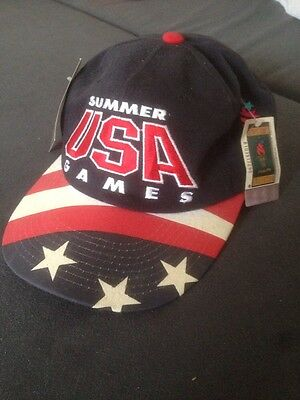 Genuine Summer USA Games Baseball Cap Hat 1996