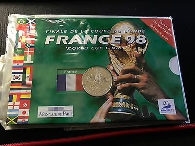 France 1998 World Cup Winners Coin