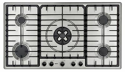 BOSCH PGL Series 36in 5-Burner Stainless Steel Cooktop (Model: PGL985UC)... NEW!