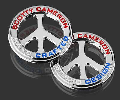 Scotty Cameron 2016 Peace Sign US Open Milled Coin Ball Marker Double Round NIB