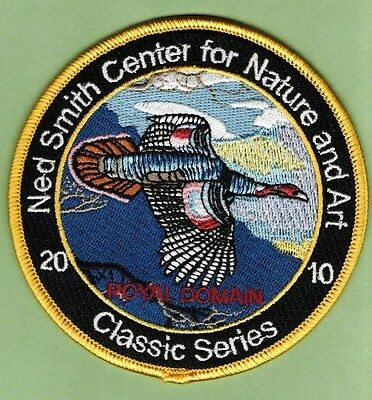 Pa Game Fish Commission related NEW Ned Smith 2010 Classic Series Turkey patch