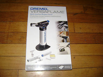 Dremel VersaFlame  Multi-function Butane Torch Model # 2200-01 w/ Accessories