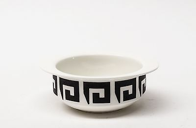 Susie Cooper Wedgwood - Black Keystone Bowls - Soup, Cereal
