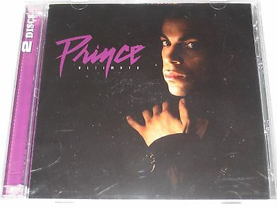 PRINCE ultimate prince greatest hits 2 disc cd NEW/SEALED