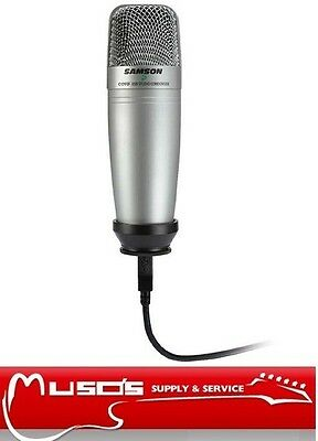 Samson CO1U Large Diaphragm Studio Condenser Microphone C01U $119