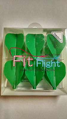 Cosmo Fit Flights Pack Of 6 Green Standard Shape