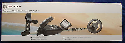 Metal detector DIGITECH with LCD display