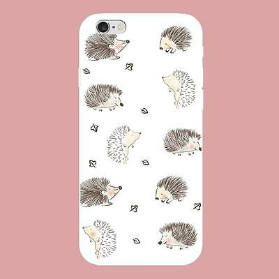 Hedgehog Cartoon Soft Silicone Phone Case for iphone5/5s/6/6s/6P/6sP/ 7/7P