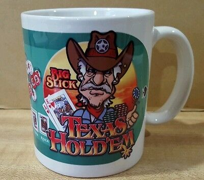Texas Hold'em Coffee Mug New