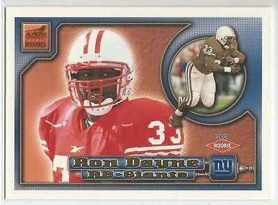 RON DAYNE 2000 Aurora ROOKIE card #93 Wisconsin Badgers New York Giants NR MT