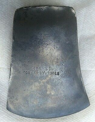 Vintage HYTEST Forged Tools 4 1/2 axe head .