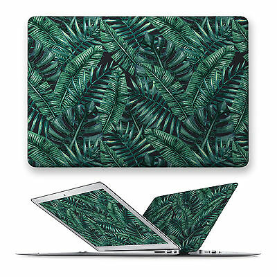 Hard Front Case Cover For Apple Mac Macbook Air Pro Touchbar 11 12 13 15 Leaves
