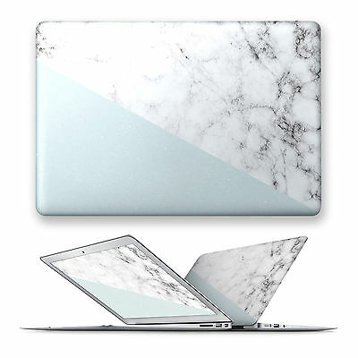 Hard Front Case Cover For Apple Macbook Air Pro Touchbar 11 12 13 15 Marble