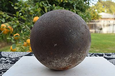 US/CS Civil War Relic 44 Pounder Cannonball Union/Confederate US Army Ordinance