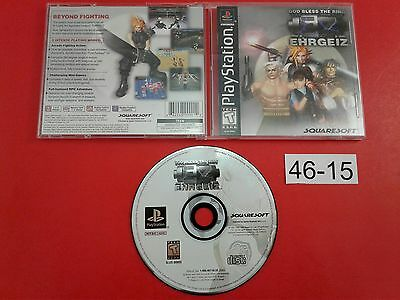 Ehrgeiz [Complete CIB] (PS1 Playstation 1) Tested & Working