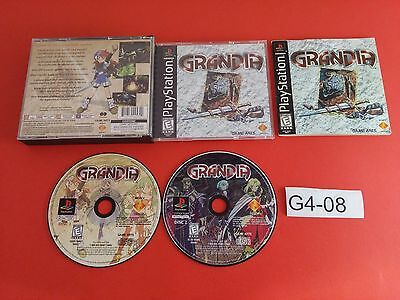 Grandia [Complete CIB] (PS1 Playstation 1) Tested & Working