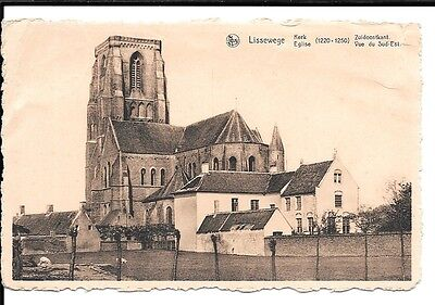 CPA - Lissewege Eglise - Emise + Timbre