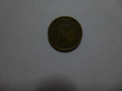 Old Hong Kong Coin - 1948 10 Cents - Circulated, scratches