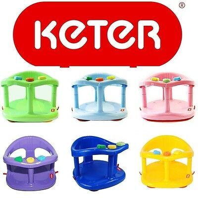 Infant Baby Bath Tub Seat Ring Safety Anti Slip Seat Keter Plastic Chair