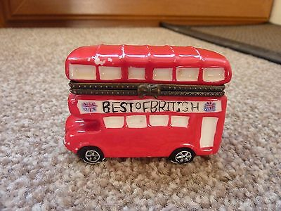 Little Pottery Red Bus