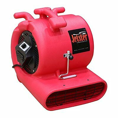 Jetster ETL Listed Air Mover Carpet Blower & Floor Dryer with low amps + GFCI &