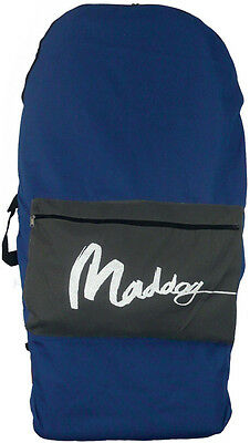 1020 MADDOG Body Board Bag - Blue with Grey Pocket - Back Pack - FREE POST - NEW