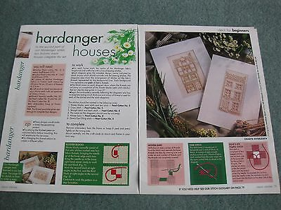 Hardanger Houses ?new house pattern - magazine chart only