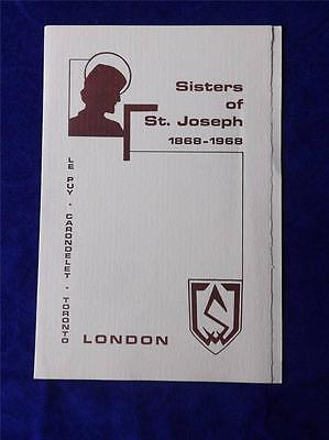 Sisters Of St Joseph Concert Band London Canada Programme Vintage 1968