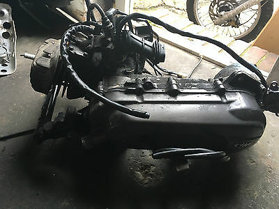 Symjet Euro 100Cc Running Engine With Starter Motor And Carb