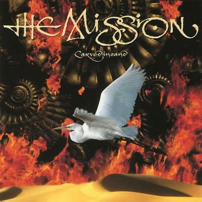 THE MISSION – CARVED IN SAND Limited 180G RED Audiophile Vinyl LP (NEW/SEALED)