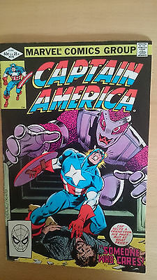 Marvel Comics Captain America #270 June 1982 VF/NM first print