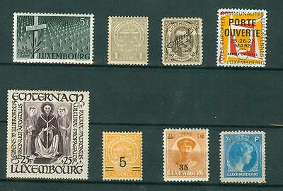 timbres  luxembourgeois  *   stamps luxembourg *