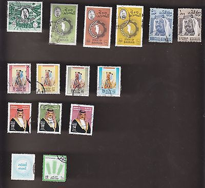 BAHRAIN 15 different lot CV = 25$