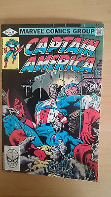 Marvel Captain America #272 August 1982 NM first print 1st appearance Vermin