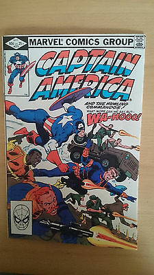 Marvel comics Captain America #273 September 1982 NM first print