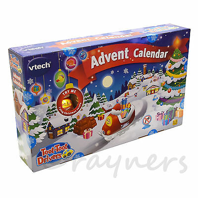 New | Vtech Toot-Toot Drivers Advent Calendar (Christmas 2016)