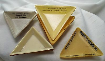 Vintage Lot Of 8 Diamond Sorting Trays Hard Plastic Good Condition