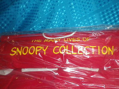 McDONALDS HAPPY MEAL MANY LIVES OF SNOOPY COMPLETE ALL 16 TOYS