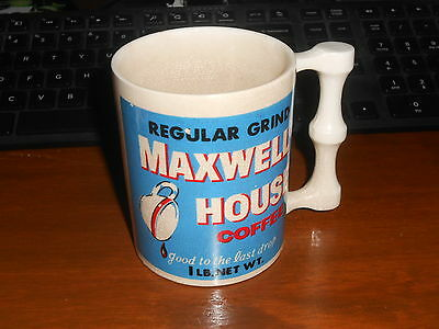 Vintage Maxwell House Coffee Mug W/ Crazing