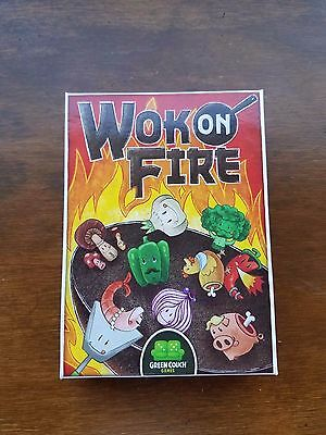 Wok on Fire - Card Game