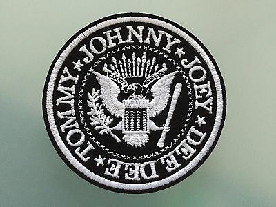 RAMONES PATCH - Embroideed Iron On Patch - 3""