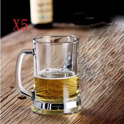New 5X Capacity 500ML Height 136MM European Beer Wine Glass/Glassware %